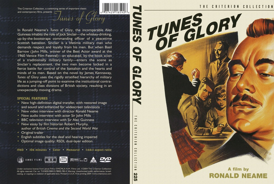 Tunes of Glory (1960) [The Criterion Collection #225] [ReUp]