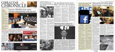 Gibraltar Chronicle – 25 October 2018