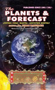 The Planets & Forecast - September 2016