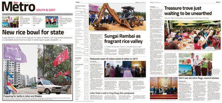 The Star Malaysia - Metro South & East – 30 March 2018