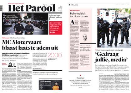 Het Parool – 25 oktober 2018