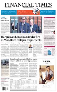Financial Times UK – 17 October 2019