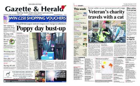 Gazette & Herald – November 09, 2017