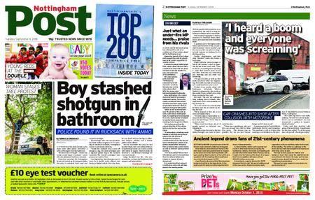 Nottingham Post – September 11, 2018