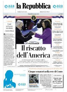 la Repubblica - 21 Gennaio 2021