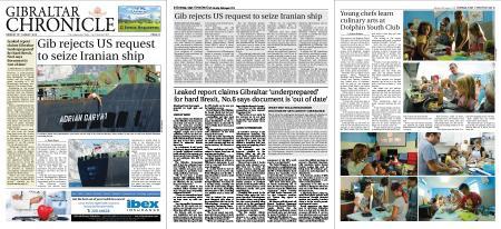 Gibraltar Chronicle – 19 August 2019