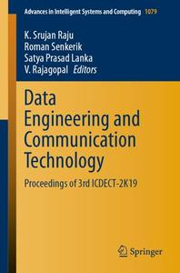 Data Engineering and Communication Technology: Proceedings of 3rd ICDECT-2K19 (Repost)