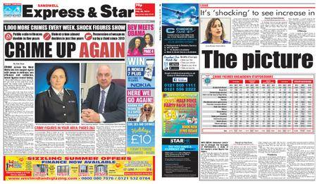 Express and Star Sandwell Edition – July 20, 2018