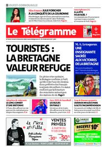 Le Télégramme Ouest Cornouaille – 19 décembre 2020