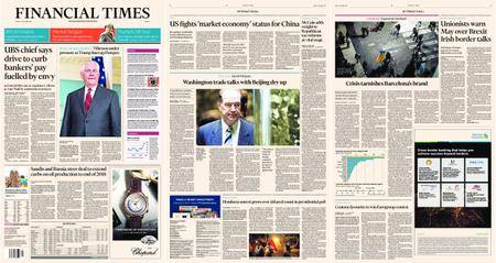 Financial Times Europe – 01 December 2017