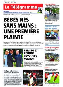 Le Télégramme Guingamp – 20 août 2019