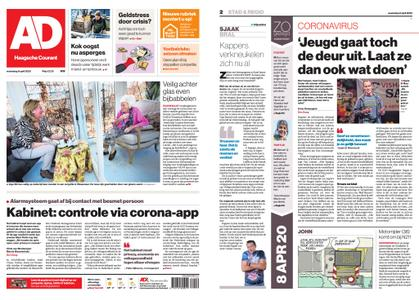 Algemeen Dagblad - Westland – 08 april 2020