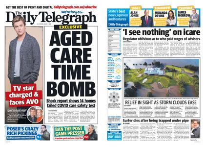 The Daily Telegraph (Sydney) – August 11, 2020