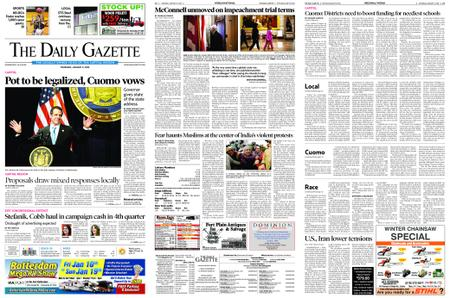 The Daily Gazette – January 09, 2020