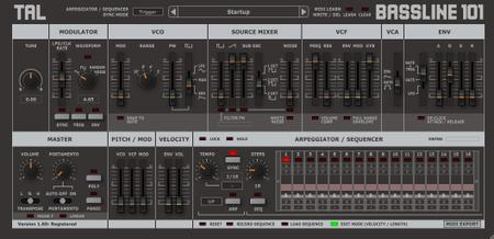 Togu Audio Line TAL-BassLine-101 v2.2.3