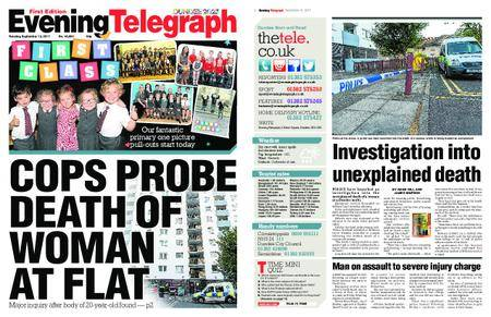 Evening Telegraph First Edition – September 12, 2017