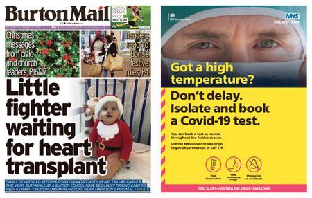 Burton Mail – December 21, 2020