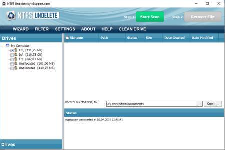 NTFS Undelete 3.0.19.329 Portable