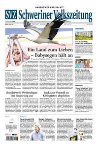Schweriner Volkszeitung Hagenower Kreisblatt - 07. Juni 2019