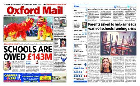 Oxford Mail – February 19, 2018