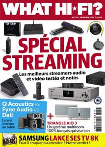What Hifi France - janvier 2019