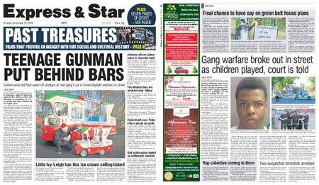 Express and Star City Edition – December 10, 2019