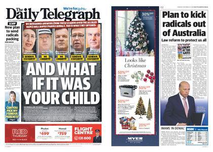 The Daily Telegraph (Sydney) – November 22, 2018