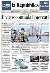 la Repubblica - 25 Febbraio 2020
