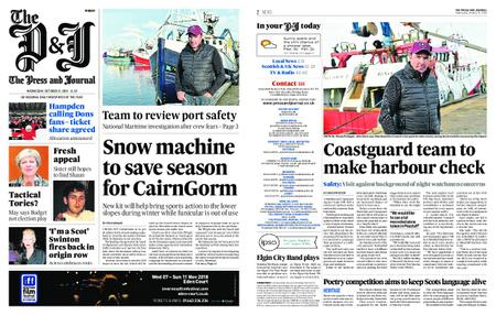 The Press and Journal Moray – October 31, 2018