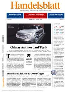 Handelsblatt - 08. Januar 2019