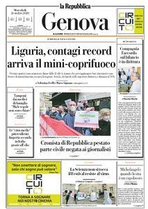 la Repubblica Genova - 21 Ottobre 2020