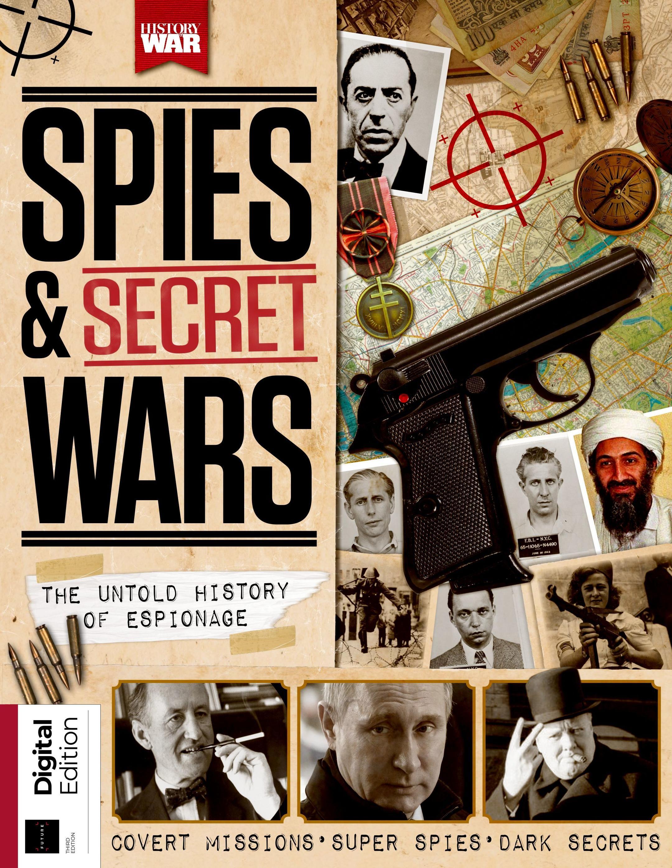 History of War: Spies & Secret Wars – July 2019