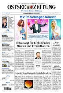 Ostsee Zeitung Wolgast - 26. Juli 2018