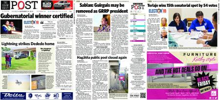 The Guam Daily Post – November 24, 2018