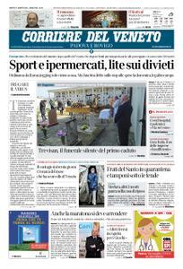 Corriere del Veneto Padova e Rovigo – 21 marzo 2020