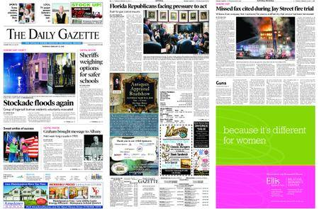 The Daily Gazette – February 22, 2018