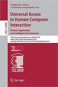 Universal Access in Human-Computer Interaction. Virtual, Augmented, and Intelligent Environments
