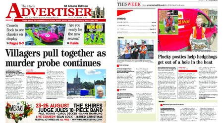 The Herts Advertiser – August 01, 2019