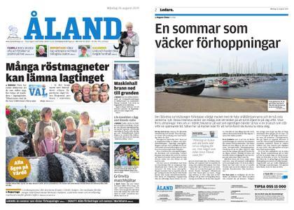 Ålandstidningen – 26 augusti 2019
