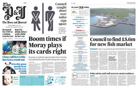 The Press and Journal Moray – December 14, 2018