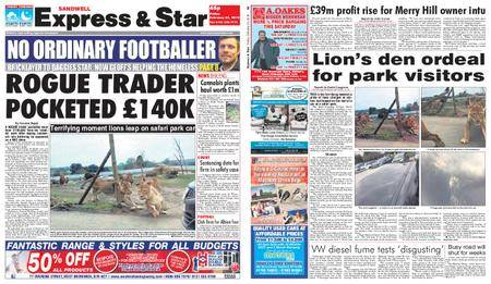 Express and Star Sandwell Edition – February 23, 2018
