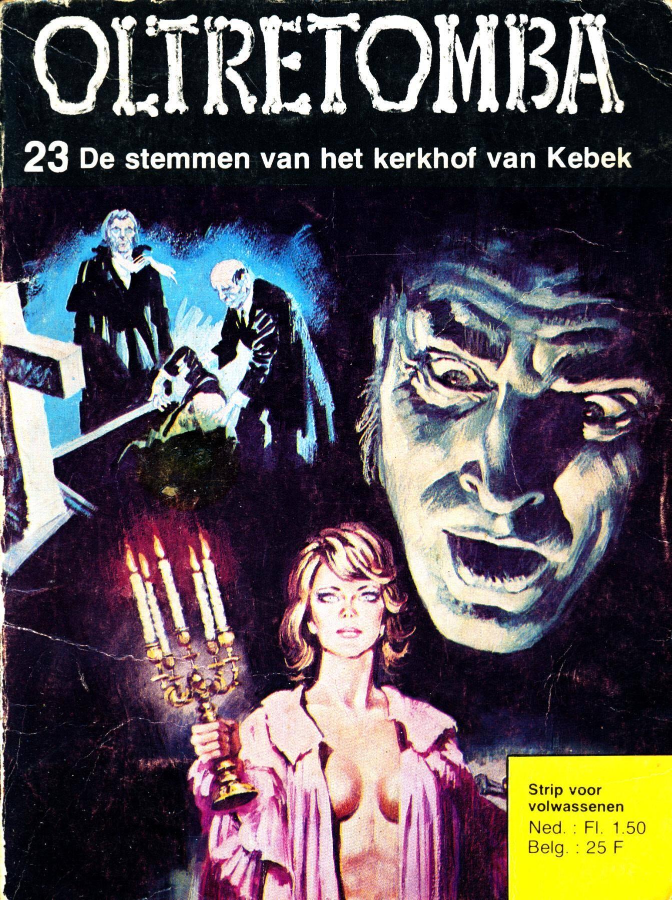 Oltretomba - 023 - De Stemmen Van Het Kerkhof Van Kebek cbr