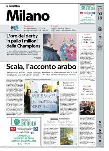 la Repubblica Milano - 17 Marzo 2019