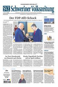 Schweriner Volkszeitung Hagenower Kreisblatt - 06. Februar 2020