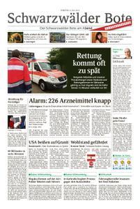 Schwarzwälder Bote Sulz - 09. Juli 2019