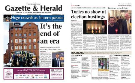 Gazette & Herald – December 05, 2019