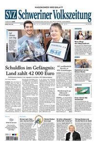 Schweriner Volkszeitung Hagenower Kreisblatt - 12. Januar 2019