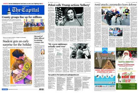 The Capital – November 15, 2019