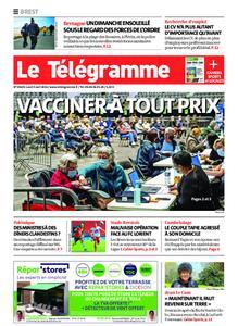Le Télégramme Brest – 05 avril 2021