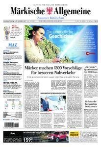 Märkische Allgemeine Zossener Rundschau - 09. Dezember 2017